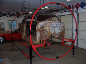 Body lift and roller plans info free auto rotisserie for Car lift plans